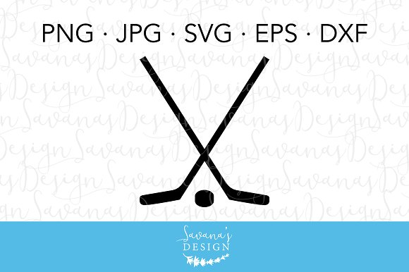 Ice Hockey Clipart And Cut Files