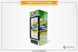 Fridge Mockup Template