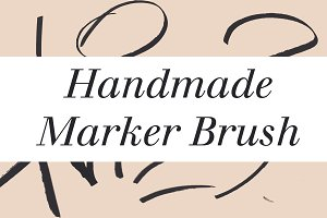 Handmade Marker Brush