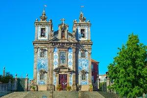 Santo Ildefonso church. Porto