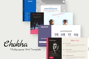Chokha - Multipurpose HTML Template