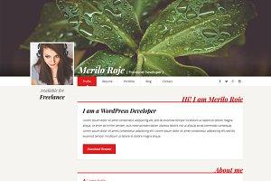 Merilo Roje – Resume / CV Template