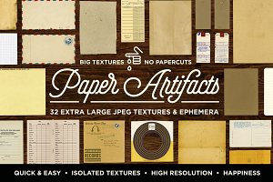Paper Artifacts | Texture & Ephemera