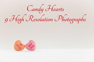 Candy Hearts photo bundle