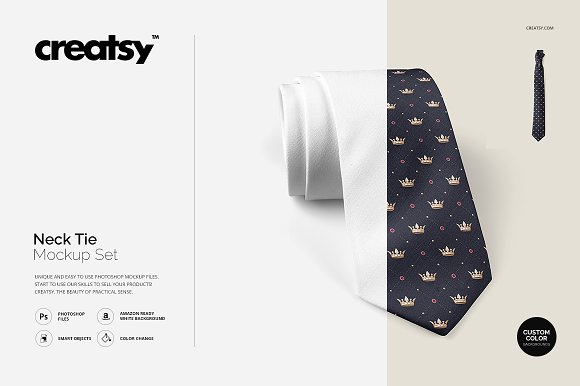 Download Neck Tie Mockup Set