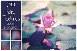 30 Fairy Color Textures