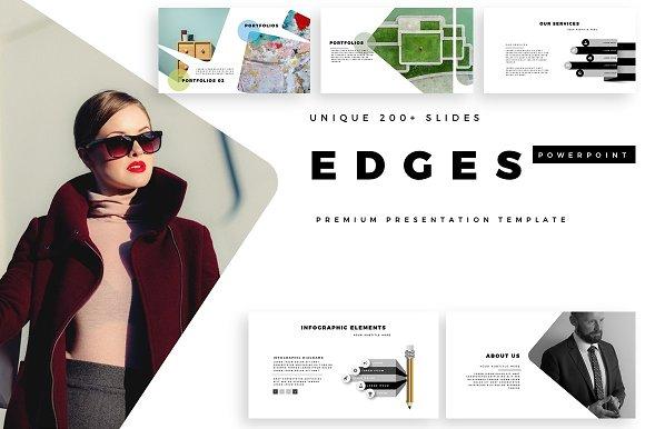 EDGES Premium PowerPoint Template