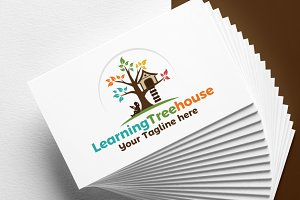 Learning Tree House | Logo
