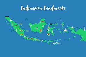 34 Indonesian Landmarks
