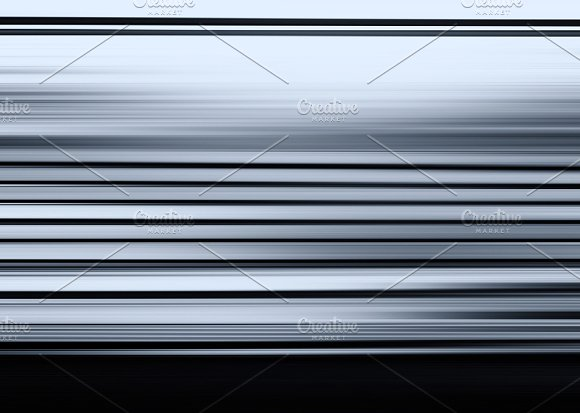 Horizontal Bluish Grey Motion Blur Illustration Background