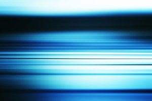 Horizontal blue sea motion blur illustration background