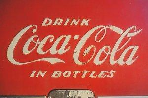 Vintage Coca Cola Logo