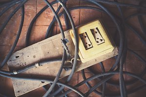 Old Electric Socket