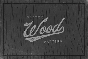 Vector Wood Pattern
