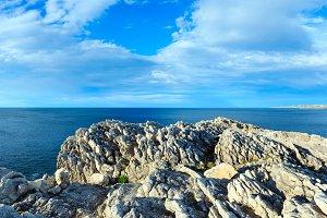 Summer Atlantic coast