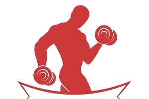Mens Fitness Club Logo