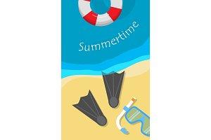 Summertime Banner