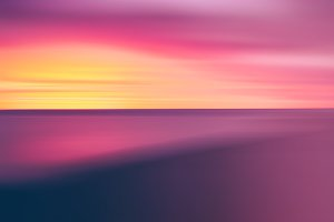 Vertical vivid pale sunset abstraction