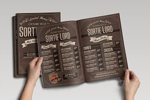 Cafe & Restaurant Menu Pack 01