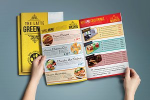 Restaurant and Cafe Menu Pack 02