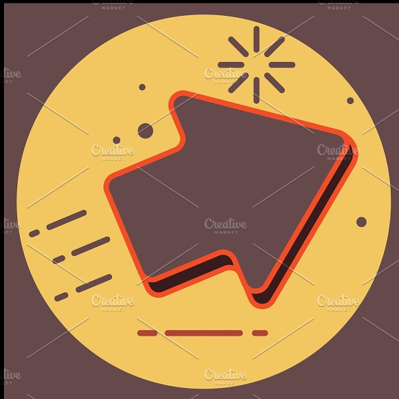 Arrow Icon In Trendy Flat Style Isolated On Grey Background Arrow Symbol For Your Web Site Design Logo App UI Illustration