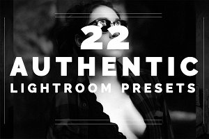 22 Authentic Lightroom Presets
