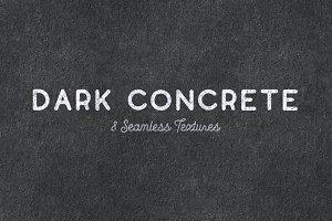 Seamless Dark Concrete Textures