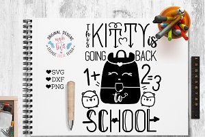 This Kitty is going back to School