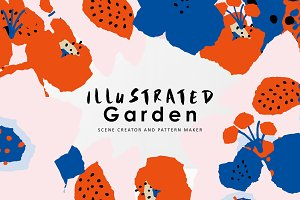 Illustrated Garden Graphics