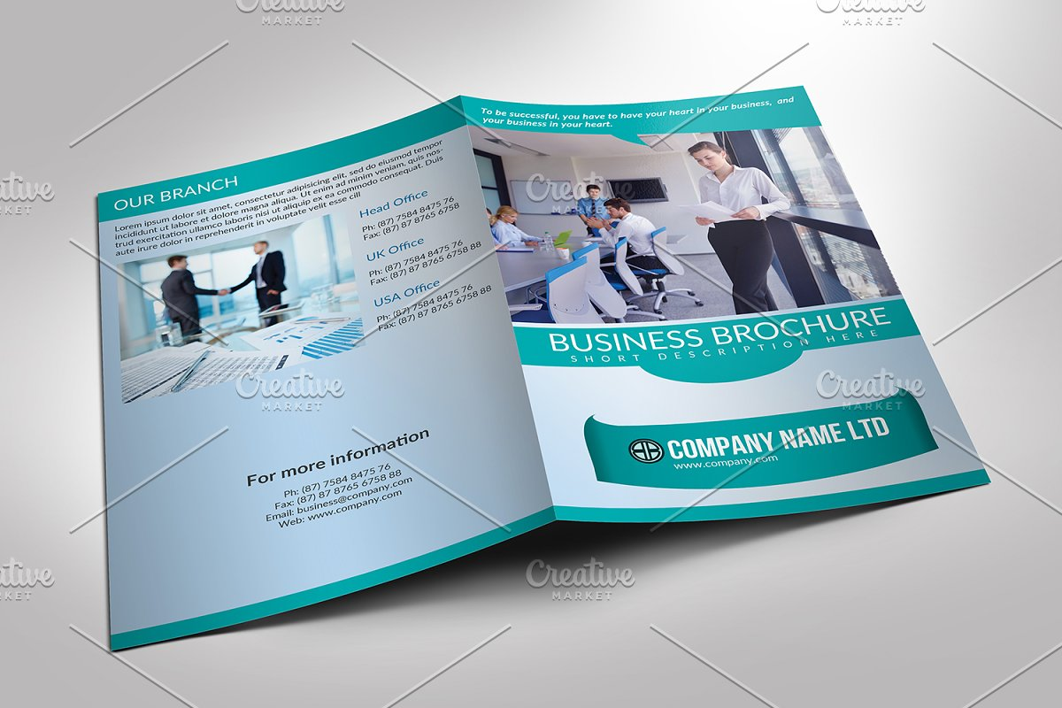 Corporate Brochure Template-V735