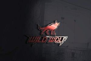 Wild Wolf logo with free bonus