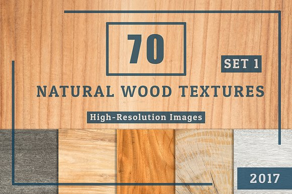 70 Natural Wood Table Textures Set 1