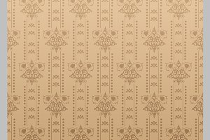 Damask background wallpaper