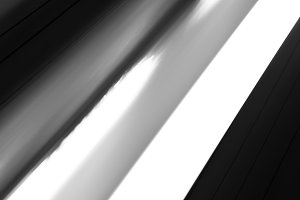 Black and white power lines abstraction