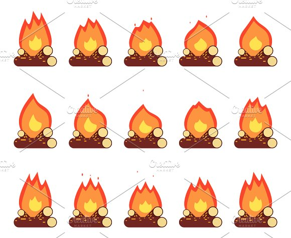 Motion Animation Flame
