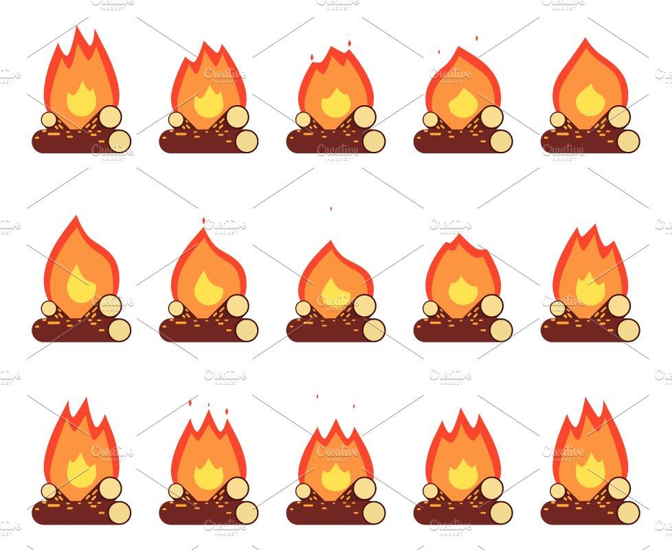 Motion Animation Flame ~ Icons ~ Creative Market
