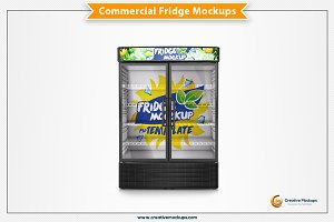 Commercial Freezer Mockup