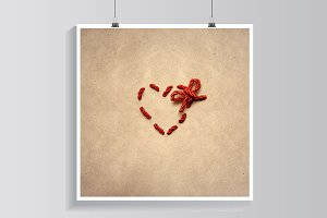 Love knot.