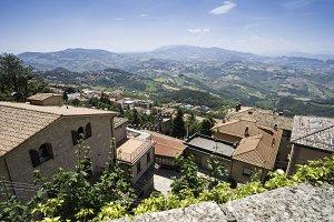 San Marino castle