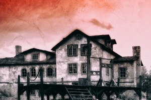 Western zombie town