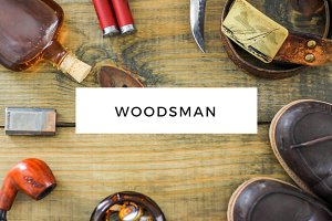 Woodsman - Masculine Styled Photos