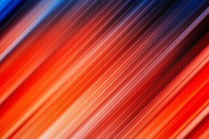 Vivid red and blue texture
