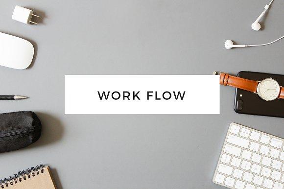 Work Flow Masculine Styled Photos