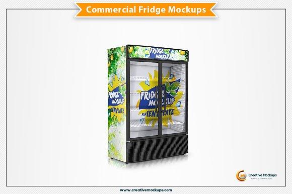 Commercial Freezer Mockup