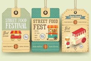 Street Food Festival Price Tags