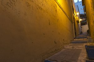 A street in the old town of Alicante