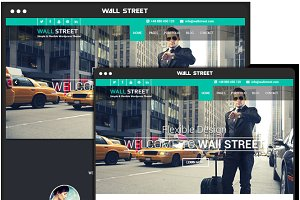Wallstreet WordPress Theme