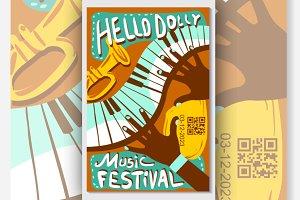 Live Music Festival Vector