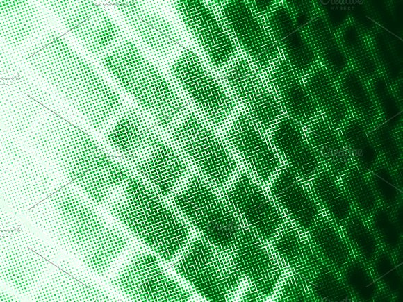 Diagonal Green Connections Illustration Background
