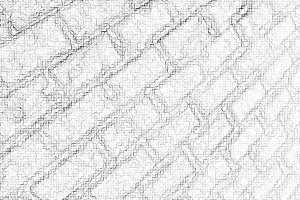 Diagonal pencil maze illustration background